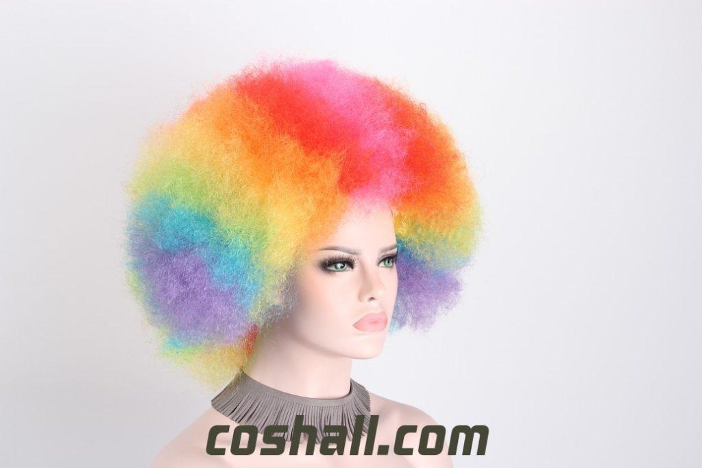 halloween clown wigs for women