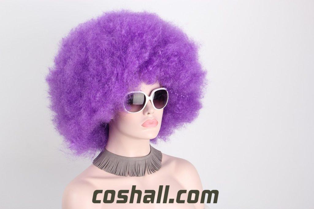 halloween afro clown wigs for women