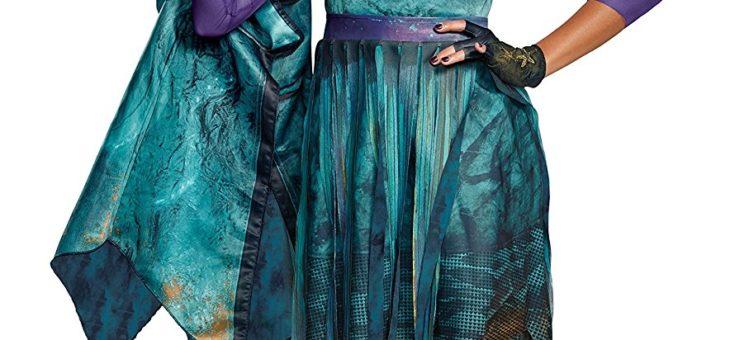Disney Uma Deluxe Descendants 2 Costume, Teal, Medium