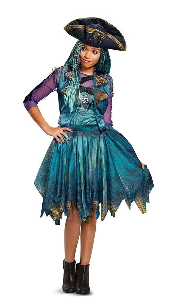 Disney Uma wig Deluxe Descendants 2 Costume wigs for halloween
